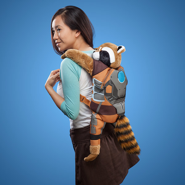 Rocket Raccoon Backpack Buddy