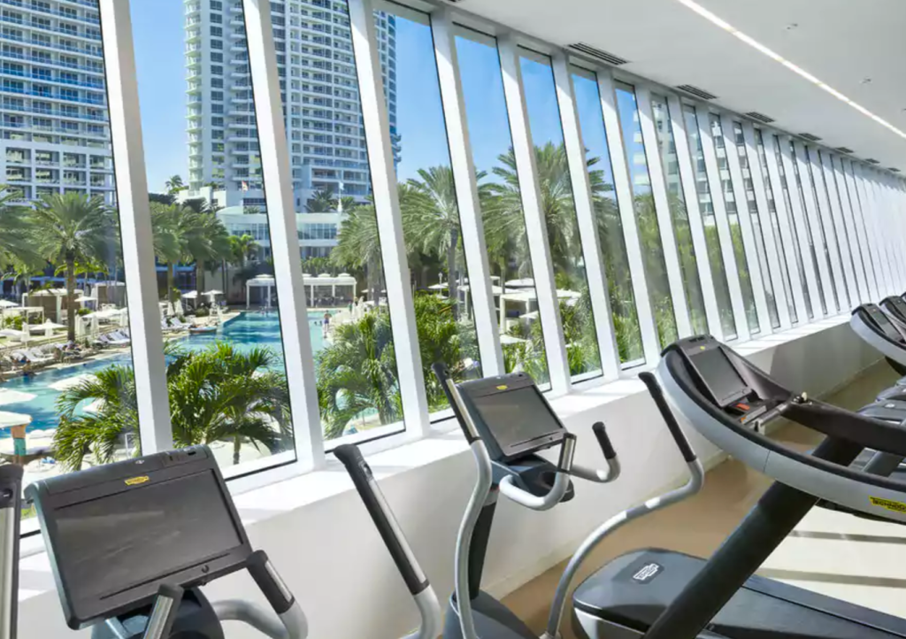 Best Hotel Gyms Fontainebleau