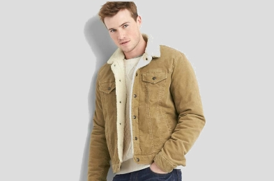 sherpa jacket for men
