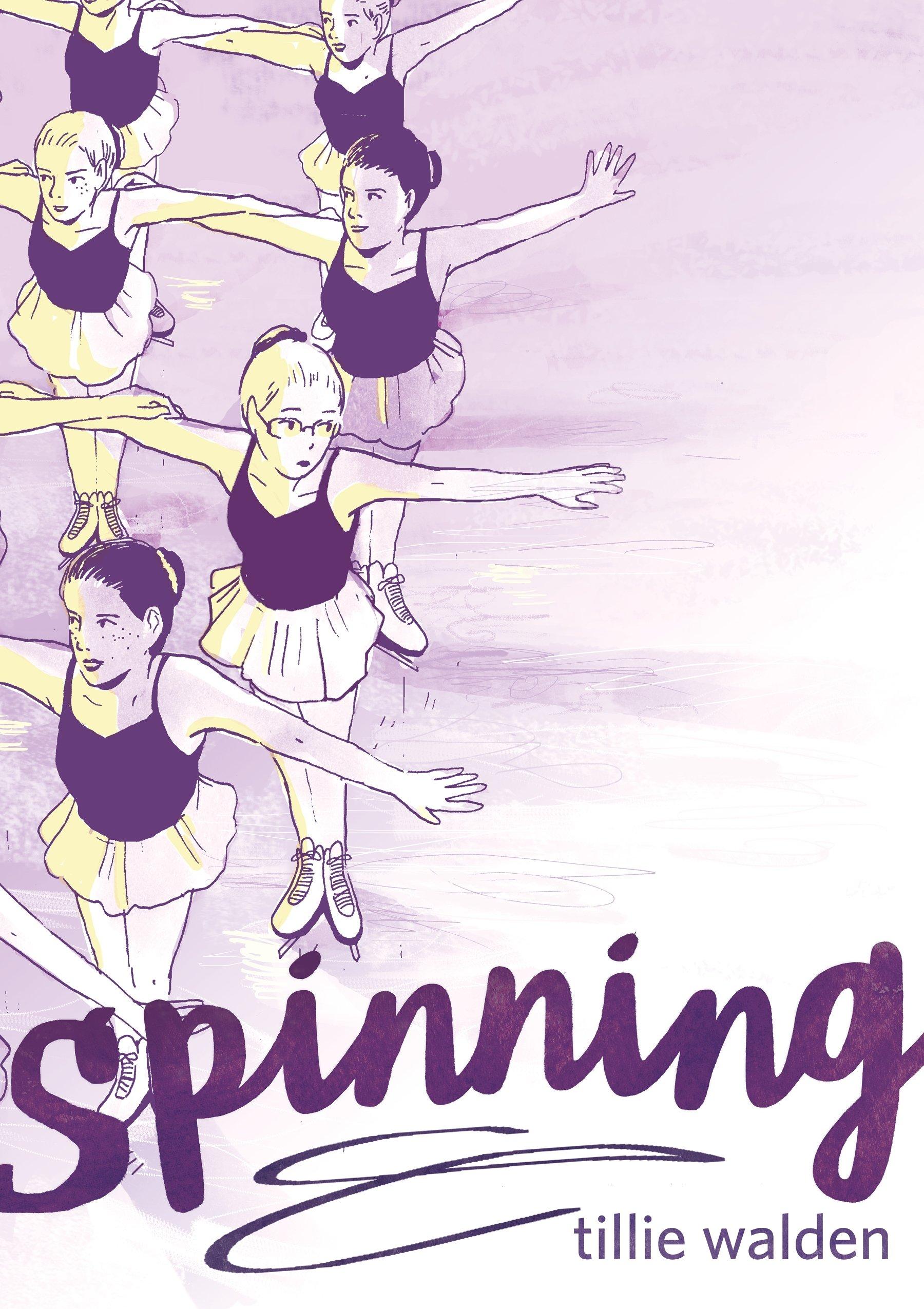 Spinning graphic novel