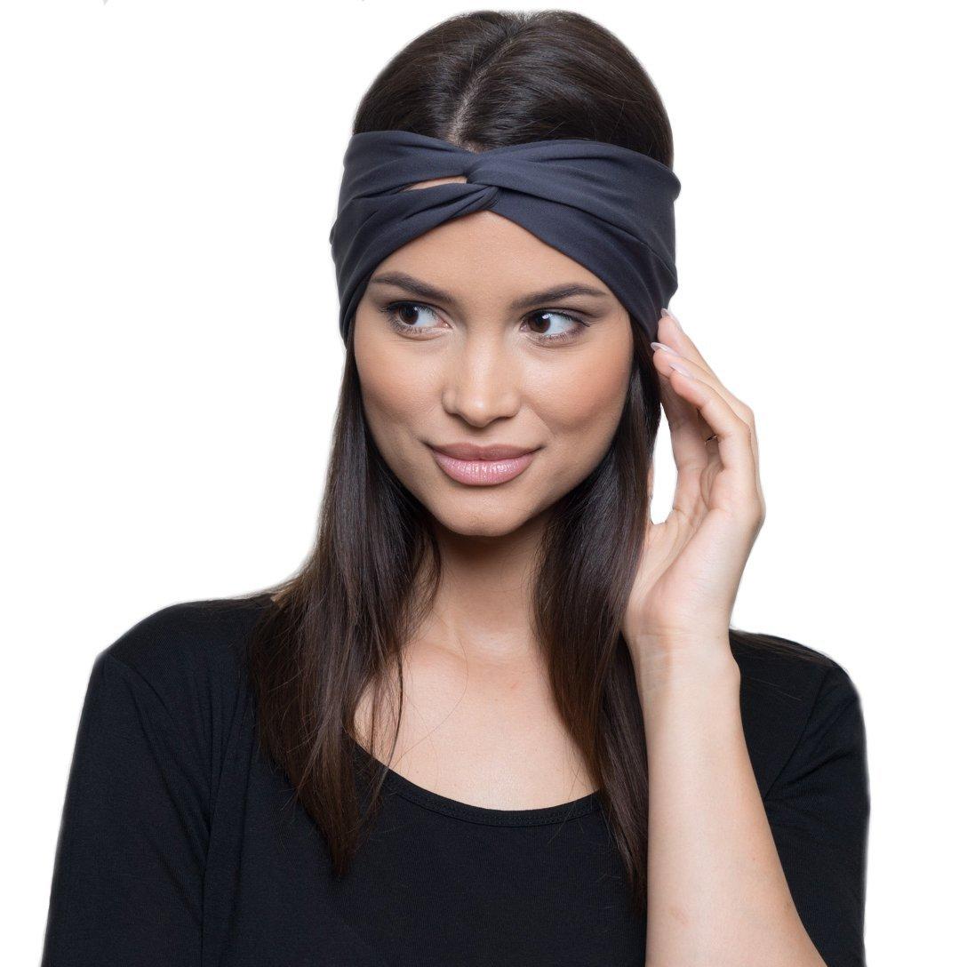 sweatbands best headbands wristbands for exercise running sweating turban wrap womens