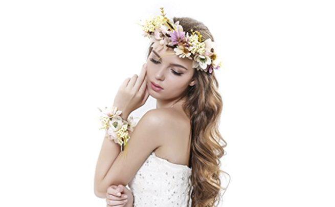 Flower Wreath Headband