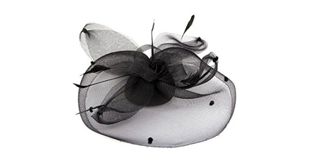 Feather and Tulle Fascinator