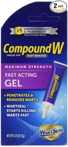wart removal best over the counter treatments cream CompoundW
