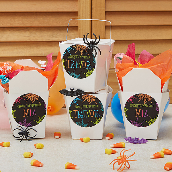Halloween decorations 13 ways to personalize decor party favors stickers