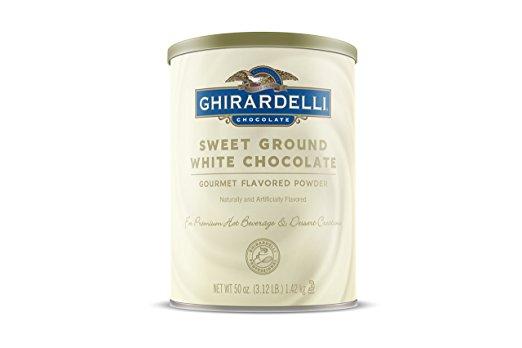 National White Chocolate Day buy online Ghirardelli powder drink mix