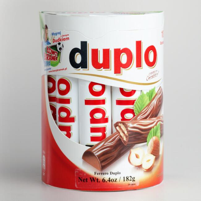 Candy Ferraro Duplo Bars