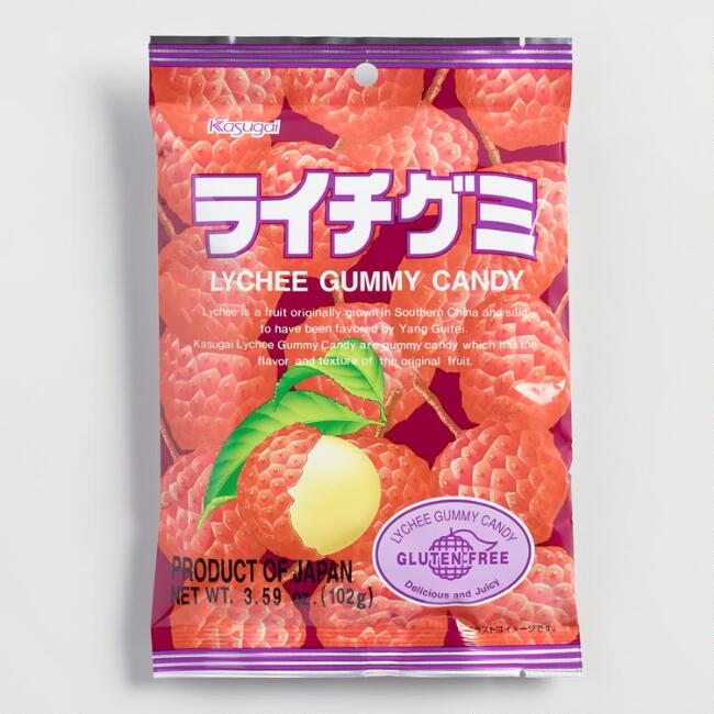 Candy Kasugai Gummy Lychees