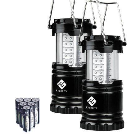 Portable camping lantern emergency