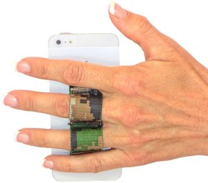 nylon phone grip ring holder