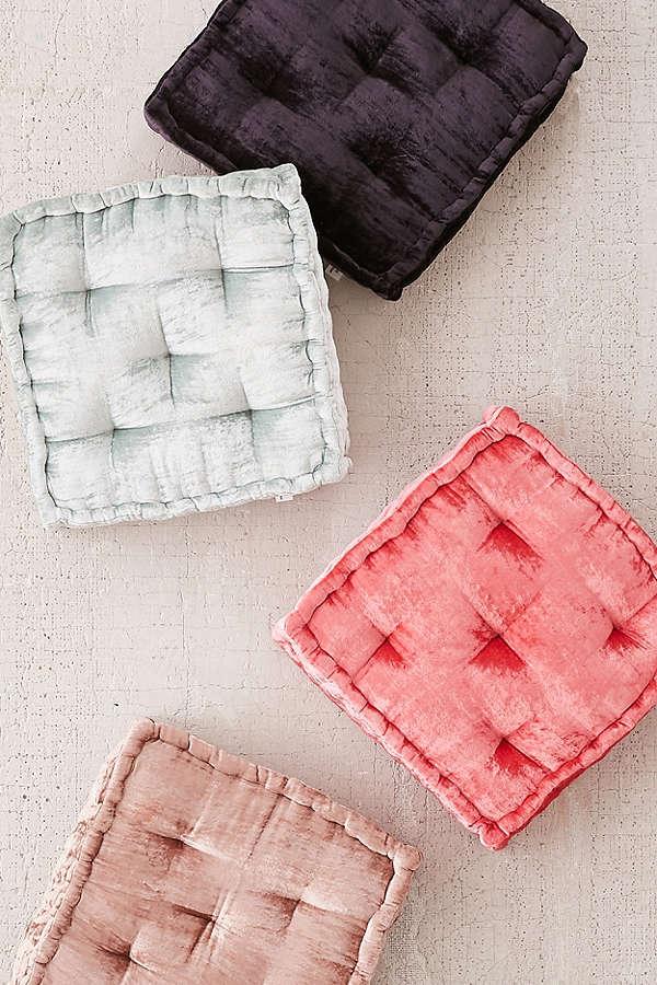 Velvet floor pillows urban outfitters