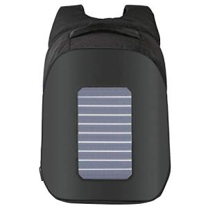 Black Backpack Solar Charger