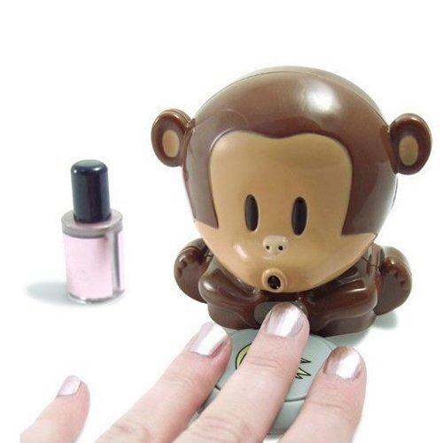 Monkey novelty nail dryer