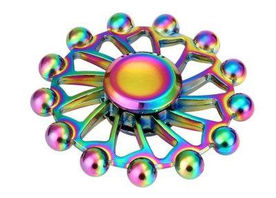 Rainbow fidget spinner amazon