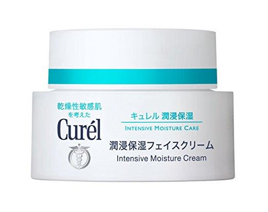Curel Japan Intense Moisturizing Cream Amazon