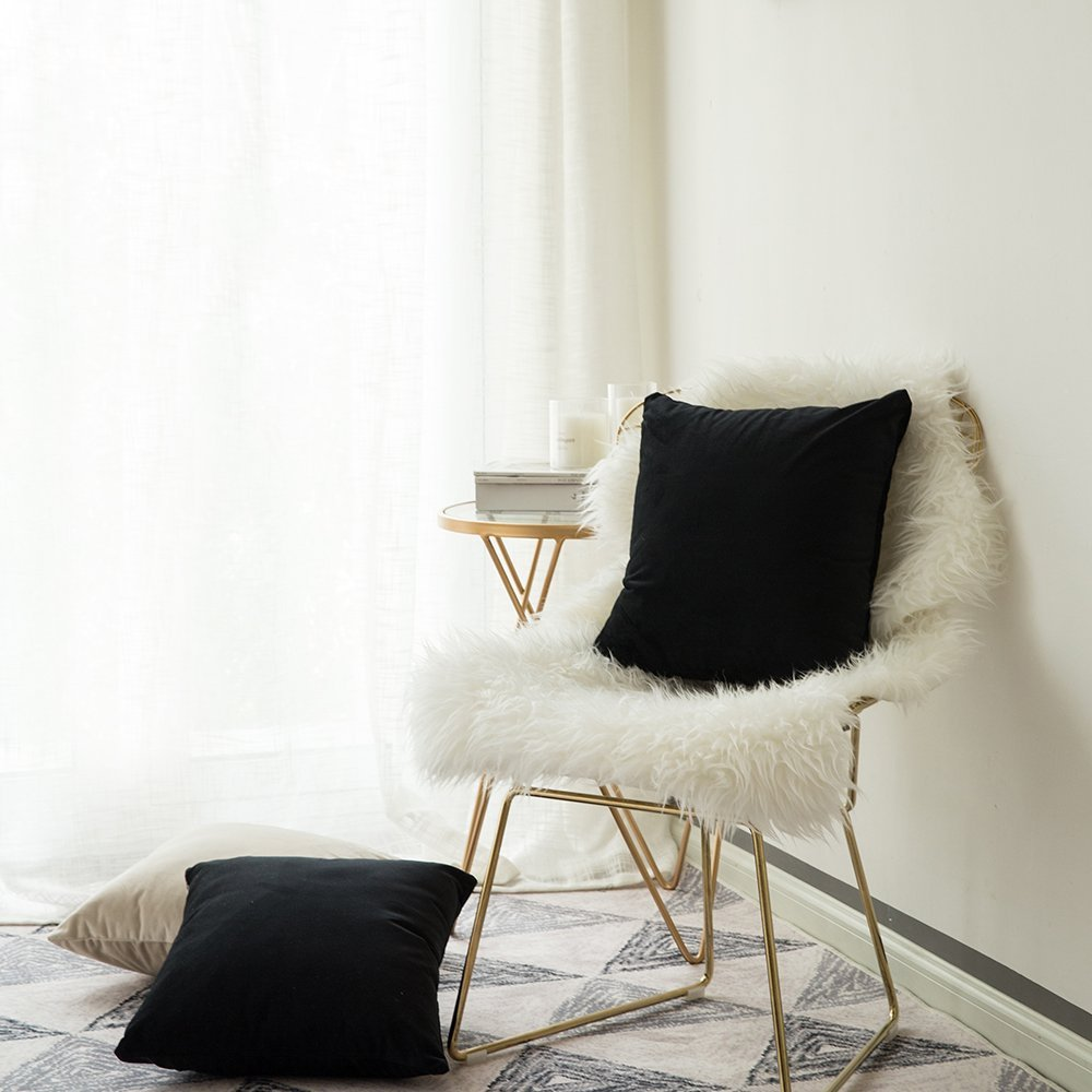 Velvet pillows amazon