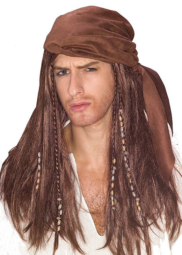 Pirates of the Caribbean wig amazon