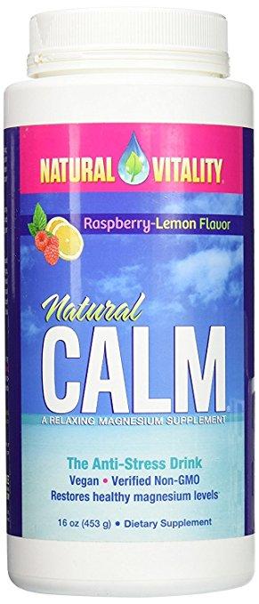 Magnesium calm anti-stress drink