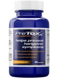 Pre-toxx hangover supplement