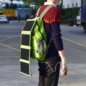 Solar Charger Backpack Men's