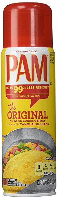 Pam Cooking Spray Nail Hack