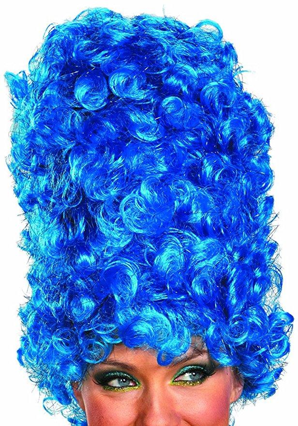 marge simpson costume wig