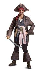 Adult Captain Jack Sparrow Costume Amazon