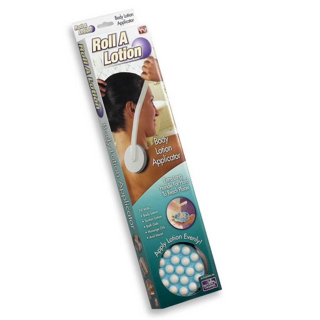 Roll lotion applicator