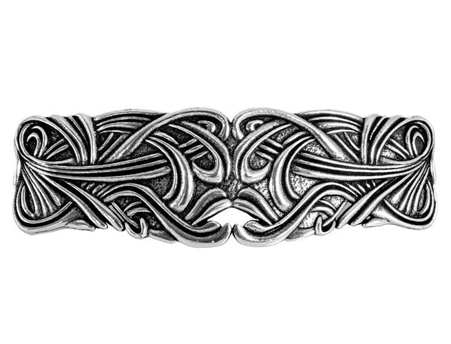 Art Nouveau Swirl Hair Clip