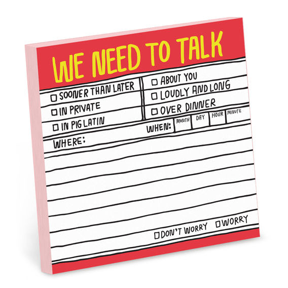 6 Funny Notepads to Express How