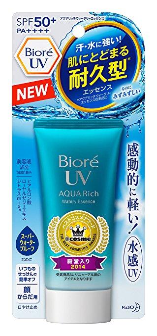 Japanese Biore UV Sunscreen