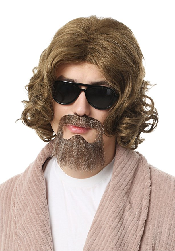 The Big Lebowski costume wig