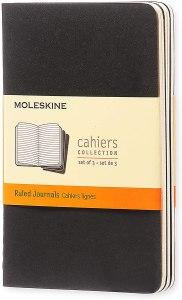 best pocket notebooks moleskine cahier