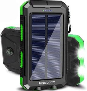 Best Multi-Charging Power Banks durecopow solar