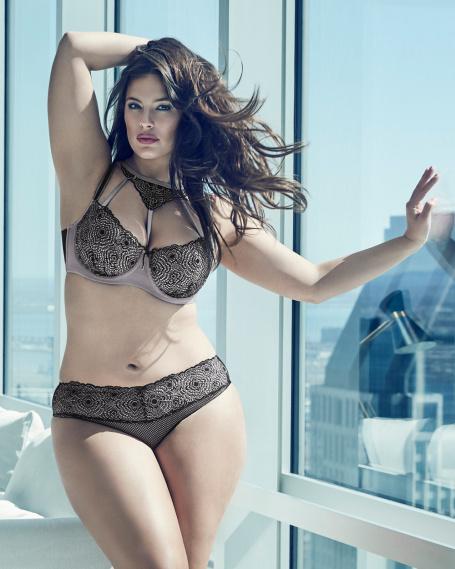 Ashley graham lingerie collection addition elle