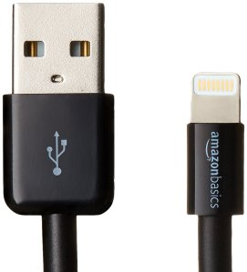 Apple MFi Certified Cable by AmazonBasics