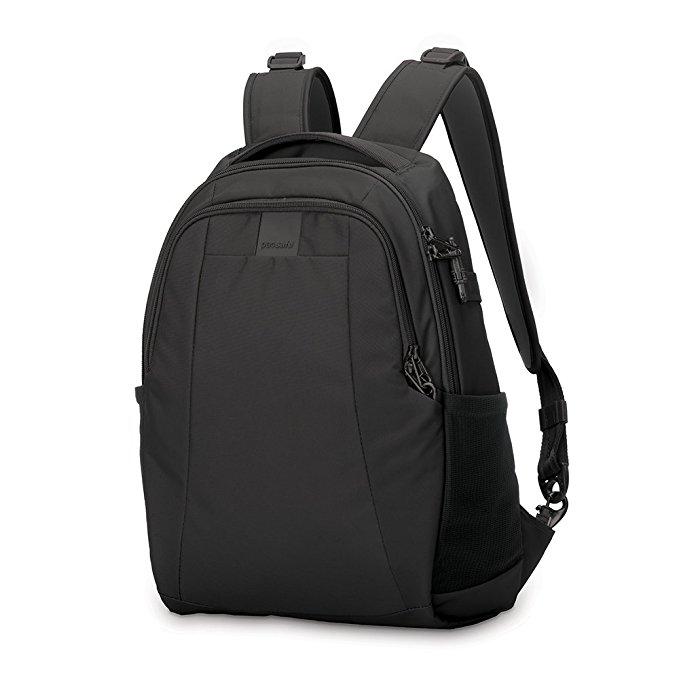 anti theft backpack travel safe bags pacsafe metrosafe