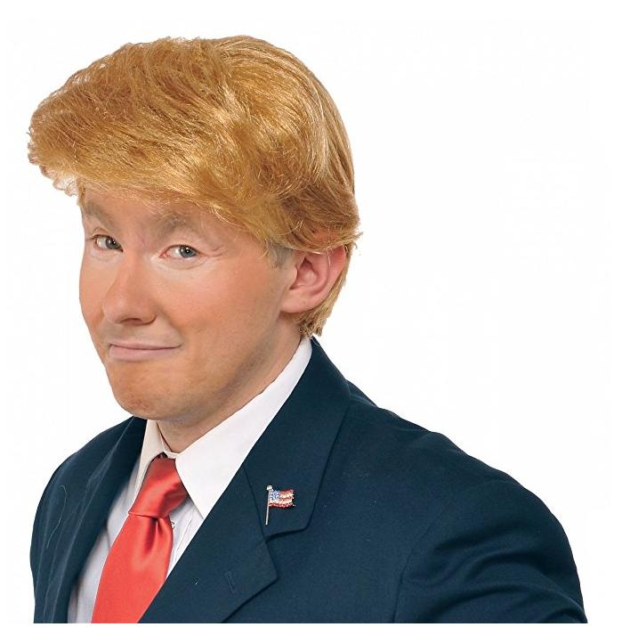 Donald trump wig costume