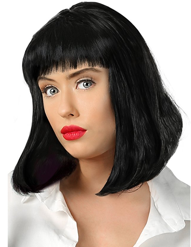 Mia Wallace pulp fiction wig amazon