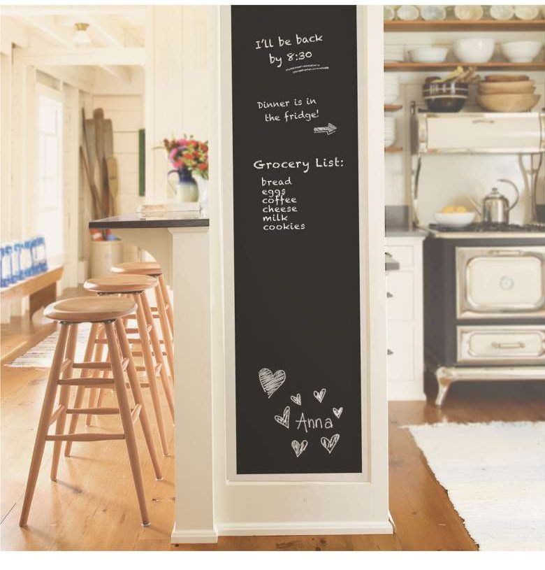 wall decor fresh new ways to decorate your walls chalkboard peel and stick wallpaper