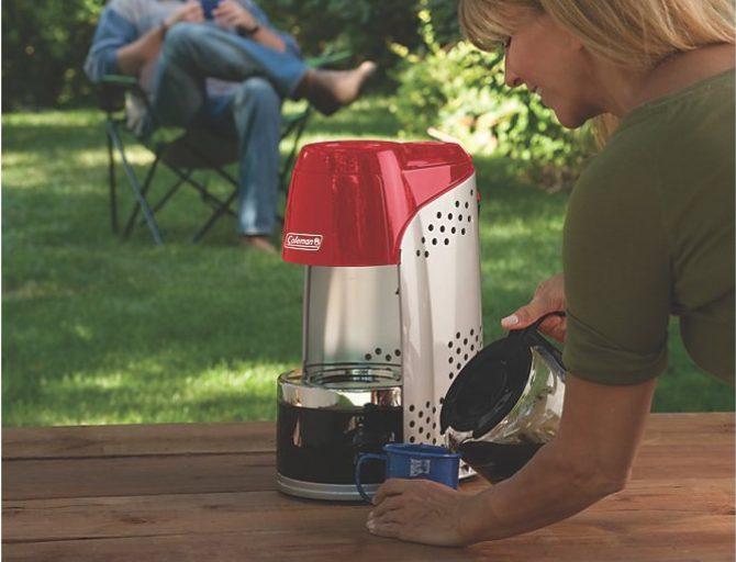 Coleman Propane Coffee Maker