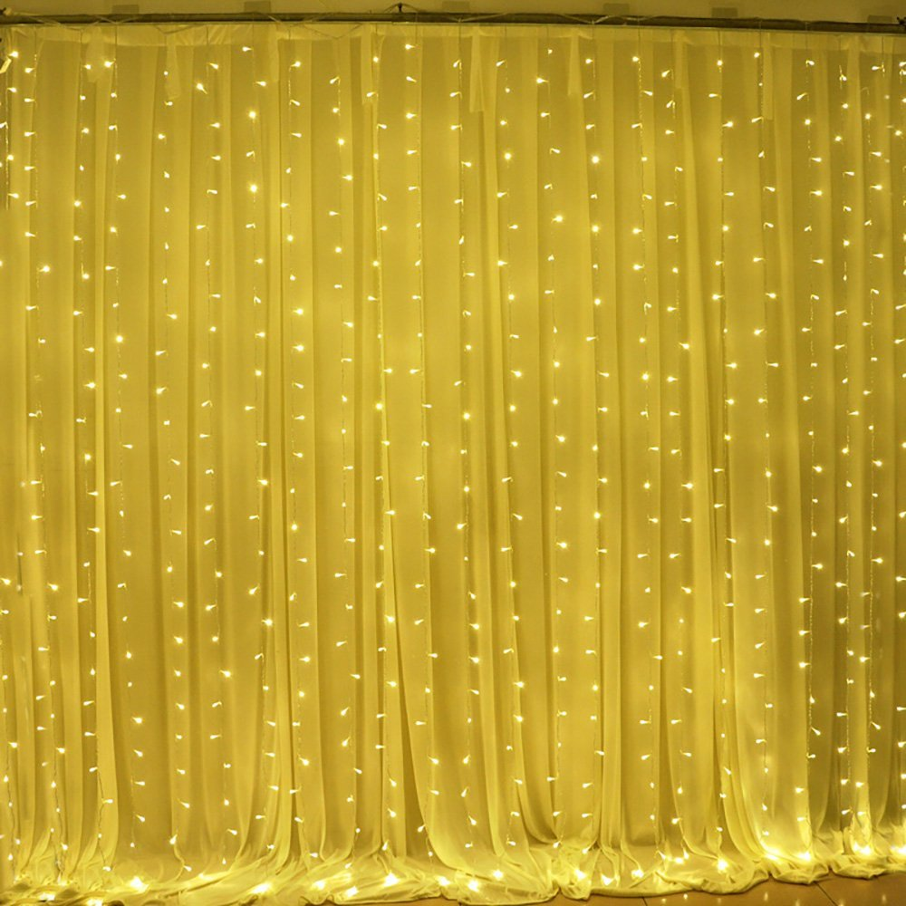 outdoor christmas lights unique lighting options for the holidays LED curtain