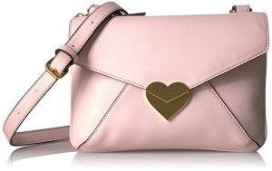 Dear Drew by Drew Barrymore uptowner Everyday Heart Clasp Crossbody Bag