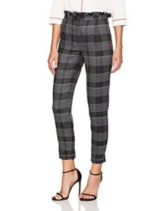 Dear Drew by Drew Barrymore Women's Arthur Avenue High Waist Ruffle Trouser
