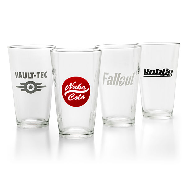 fallout pint glasses