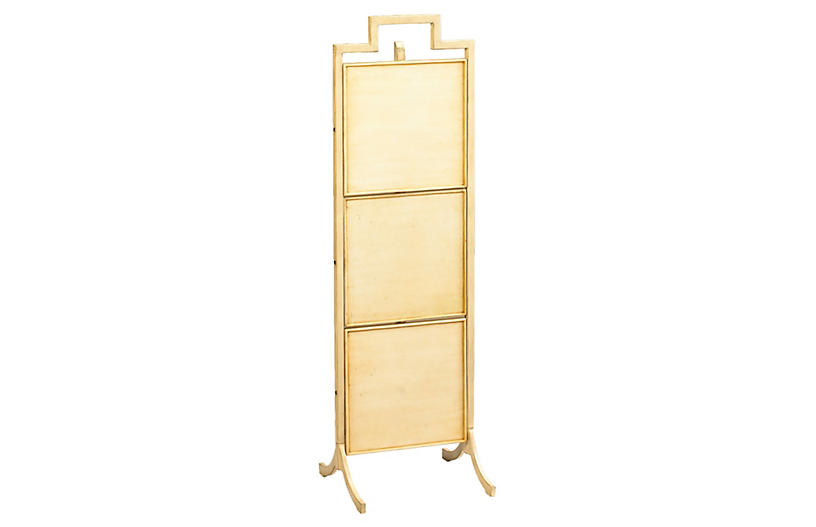 entryway bench best pieces One Kings Lane small tamsin folding shelf ivory