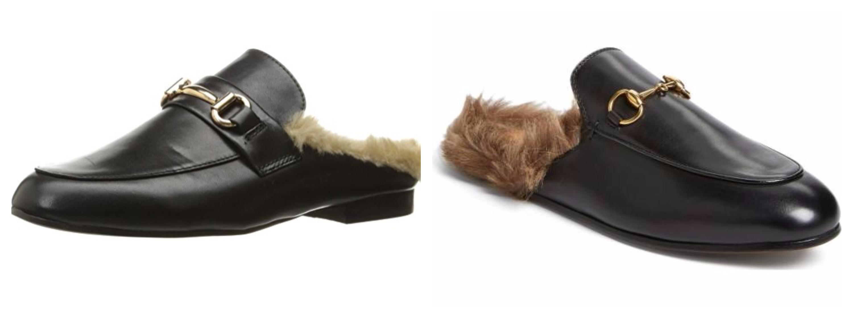 Gucci Fur Slides Dupe