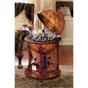 bar cart best cocktail serving carts under $100 globe vintage