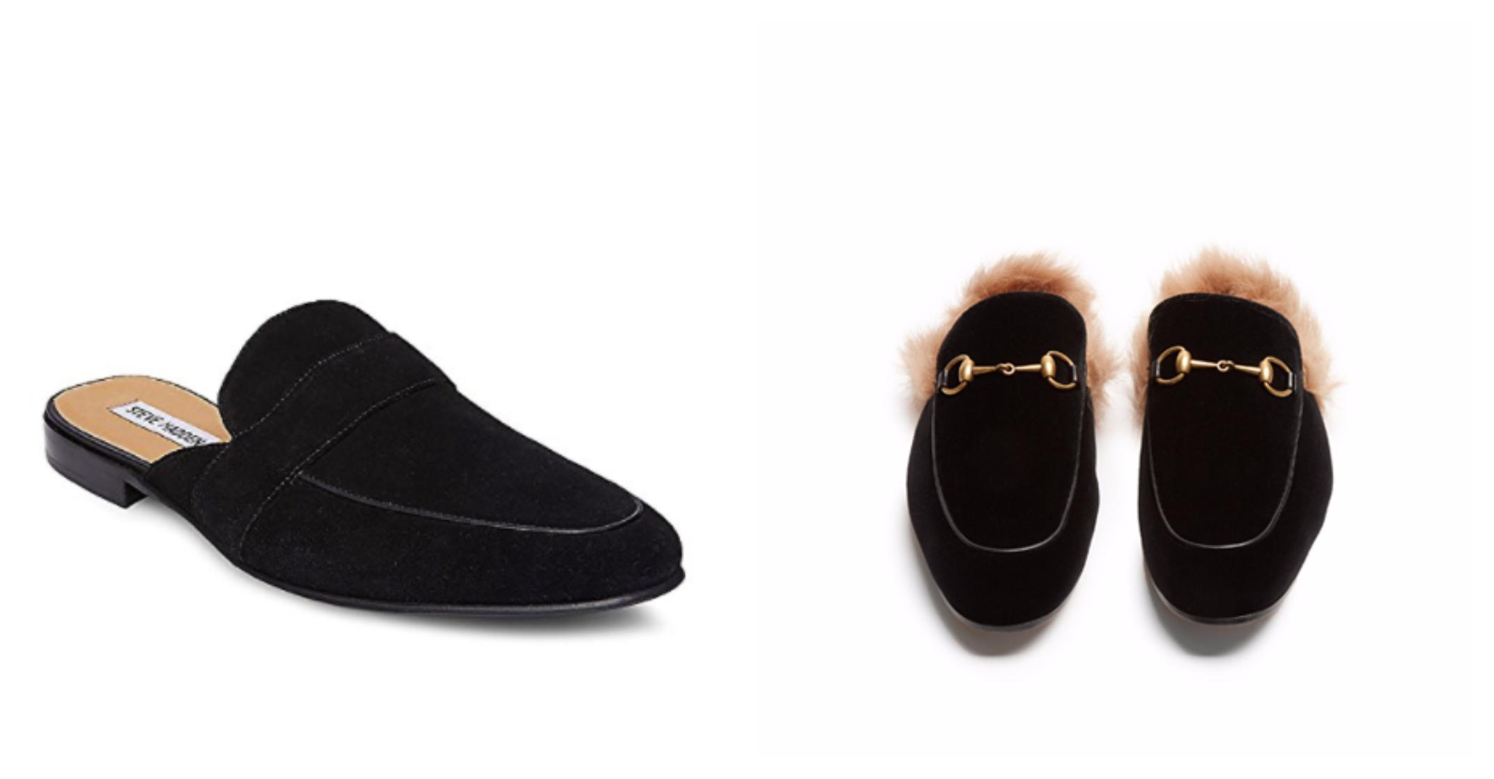 Gucci Velvet Loafer Alternative