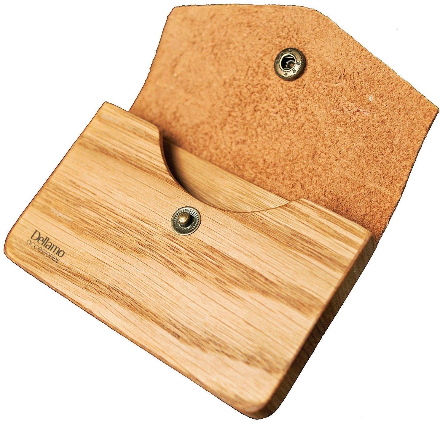 handmade dellamo credit card case